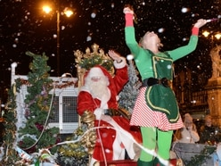 Christmas comes to Cannock - in pictures