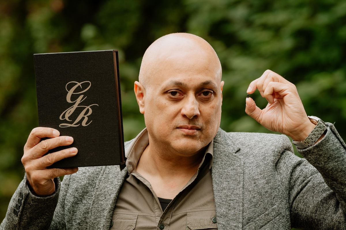 Balvinder Sambhi, from Stourbridge, has created and patented the first ever microchip for books
