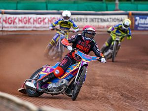 Rory Schlein leads for WolvesPicture Paul Rose