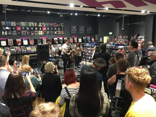 Merry Hill HMV and RawSound.tv toast successful debut live music showcase