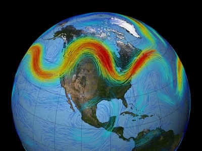 Extreme weather being caused by jet stream 'not because of Arctic warming'