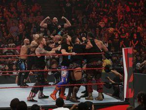 Tyson Fury 'brawled' with WWE stars at Monday Night Raw
