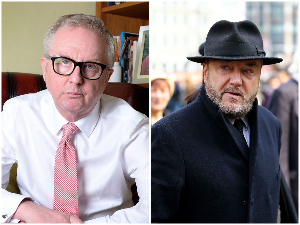 Dudley North MP Ian Austin claimed prospective West Bromwich East MP George Galloway had been humiliated with the turnout at his Dudley event