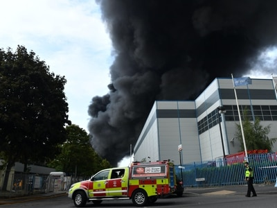 Fire crews tackle 'severe' blaze on Birmingham industrial estate