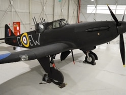 Second World War fighter plane restored to full glory