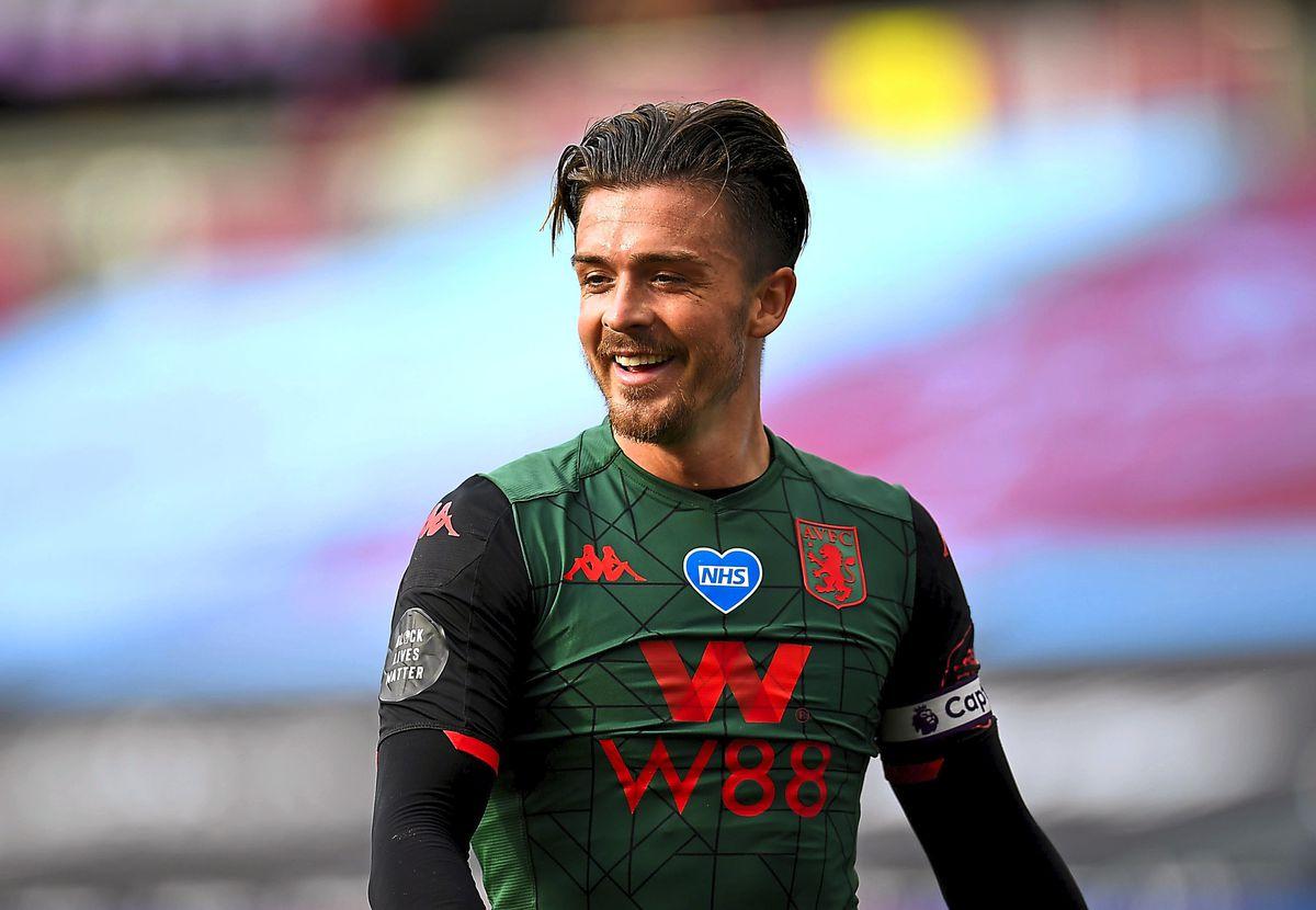 Aston Villa's Jack Grealish was on the scoresheet