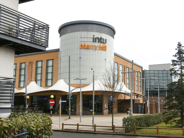 Merry Hill owner intu suffers fall in value of its shopping centres