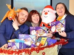 Former Thomas Cook staff giving back with food bank donations