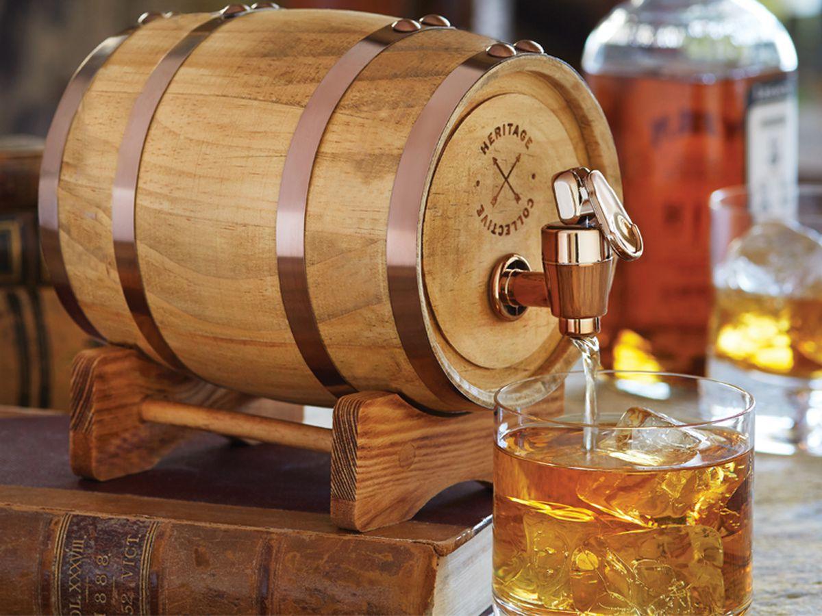 Sharper Image Mini Whisky Barrel