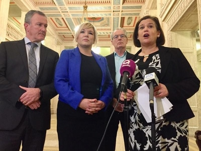 Sinn Fein brands latest talks to resolve Stormont impasse 'a sham'