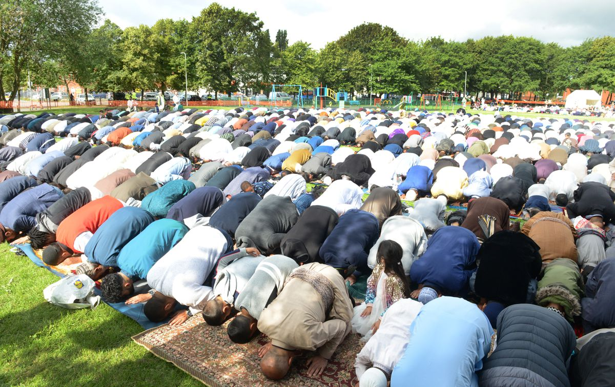 The end of Ramadan and celebration of Eid-ul-Fitr brings people together in prayer, with outdoor events popular in some cities
