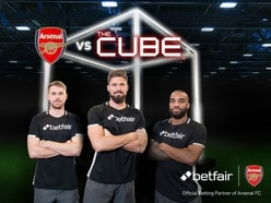 Which of these Arsenal stars came out on top against The Cube?