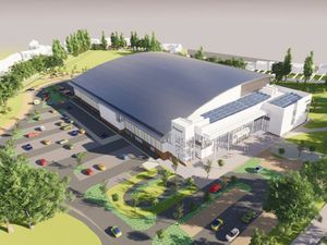 New artists impressions of the planned aquatics centre in Smethwick