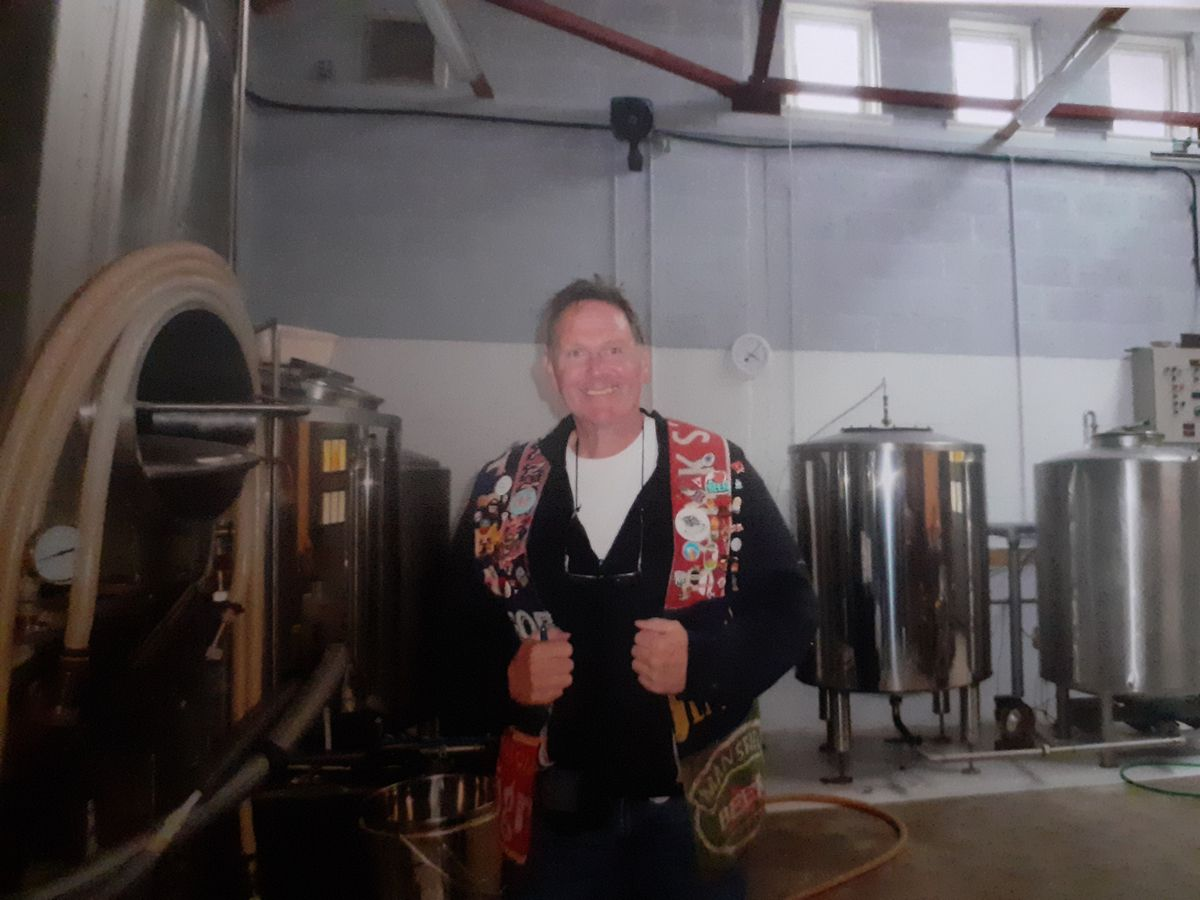 Pete at Colonsay Brewery