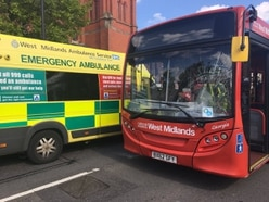 Woman hit by bus outside West Bromwich station