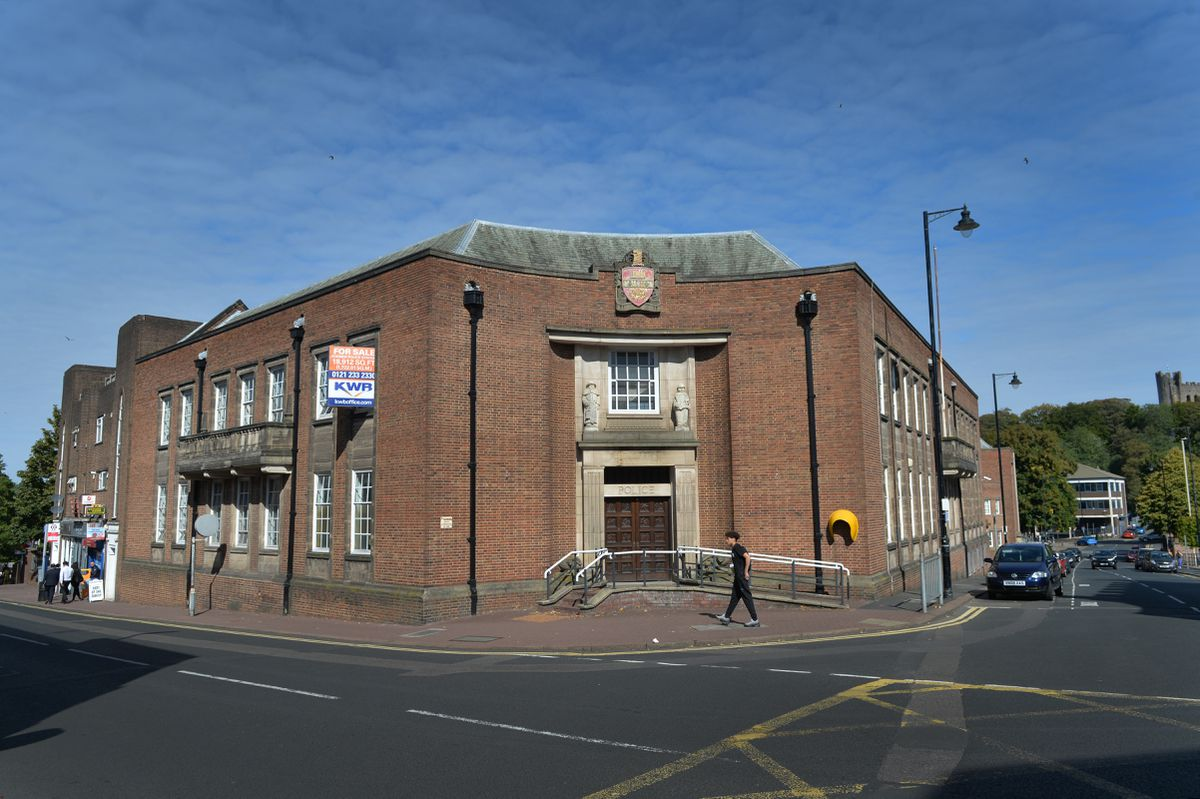 The former Dudley police station could be turned into flats