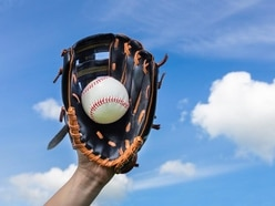 You've never seen a baseball caught from this angle before