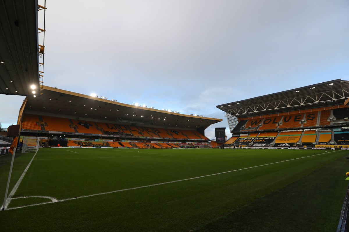 General view of the pitch at Molineux Stadium the home of Wolverhampton Wanderers (AMA)