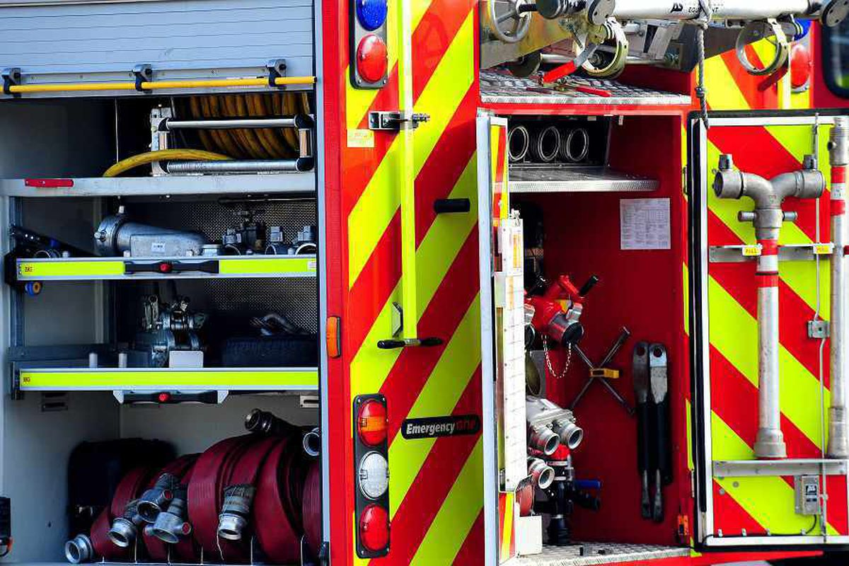 Mother and daughter rescued after house 'set on fire' in Wolverhampton