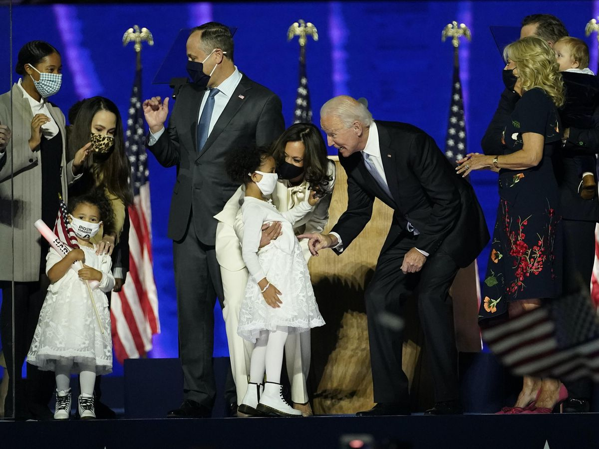 In Pictures Joe Biden And Kamala Harris Give Victory Speeches Express Star