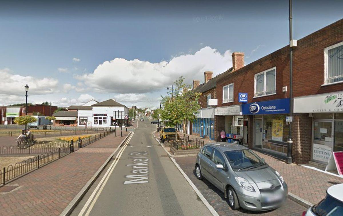 Market Street, Hednesford. Photo: Google