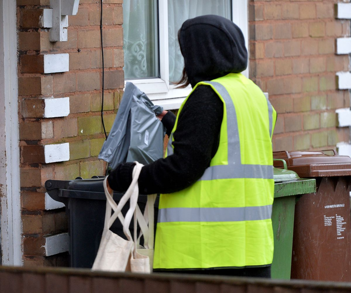 Testing kits have been delivered across Walsall