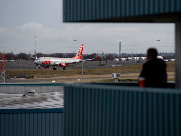 A Jet 2 passenger plane arrives at Birmingham Airport. All UK travel corridors, which allow arrivals from some countries to avoid having to quarantine, have now closed. Travellers arriving in the UK also have to show proof of a negative Covid-19 test to be allowed entry. Picture date: Monday January 18, 2021. PA Photo. See PA story HEALTH Coronavirus. Photo credit should read: Jacob King/PA Wire