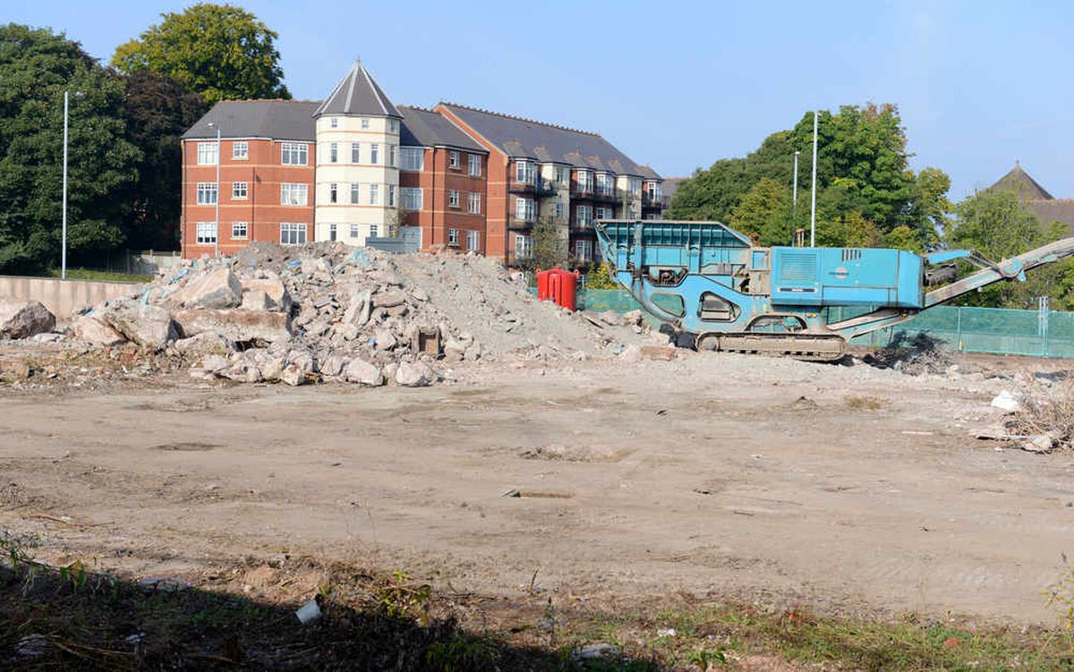 The dealership is being built on the former Metal Castings Limited site