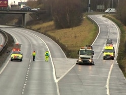 Two women killed in crash between car and van on M42
