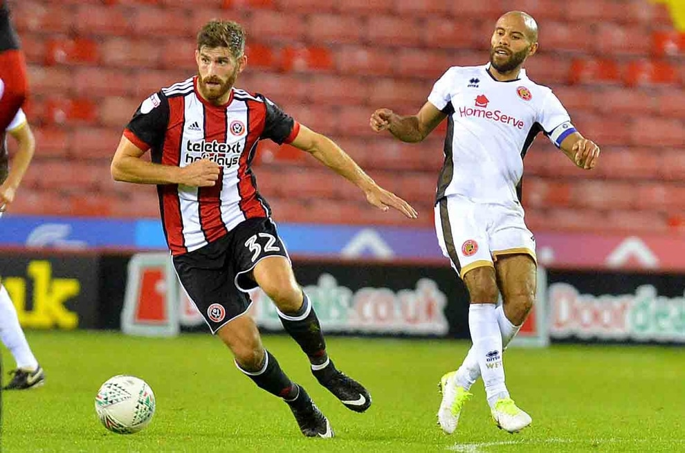 Ched Evans hailed for positive impact by Sheffield United boss