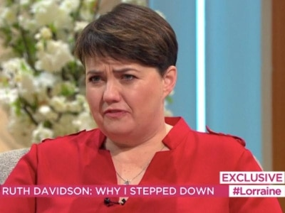 Ruth Davidson reveals her reasons for quitting as Scottish Tory leader