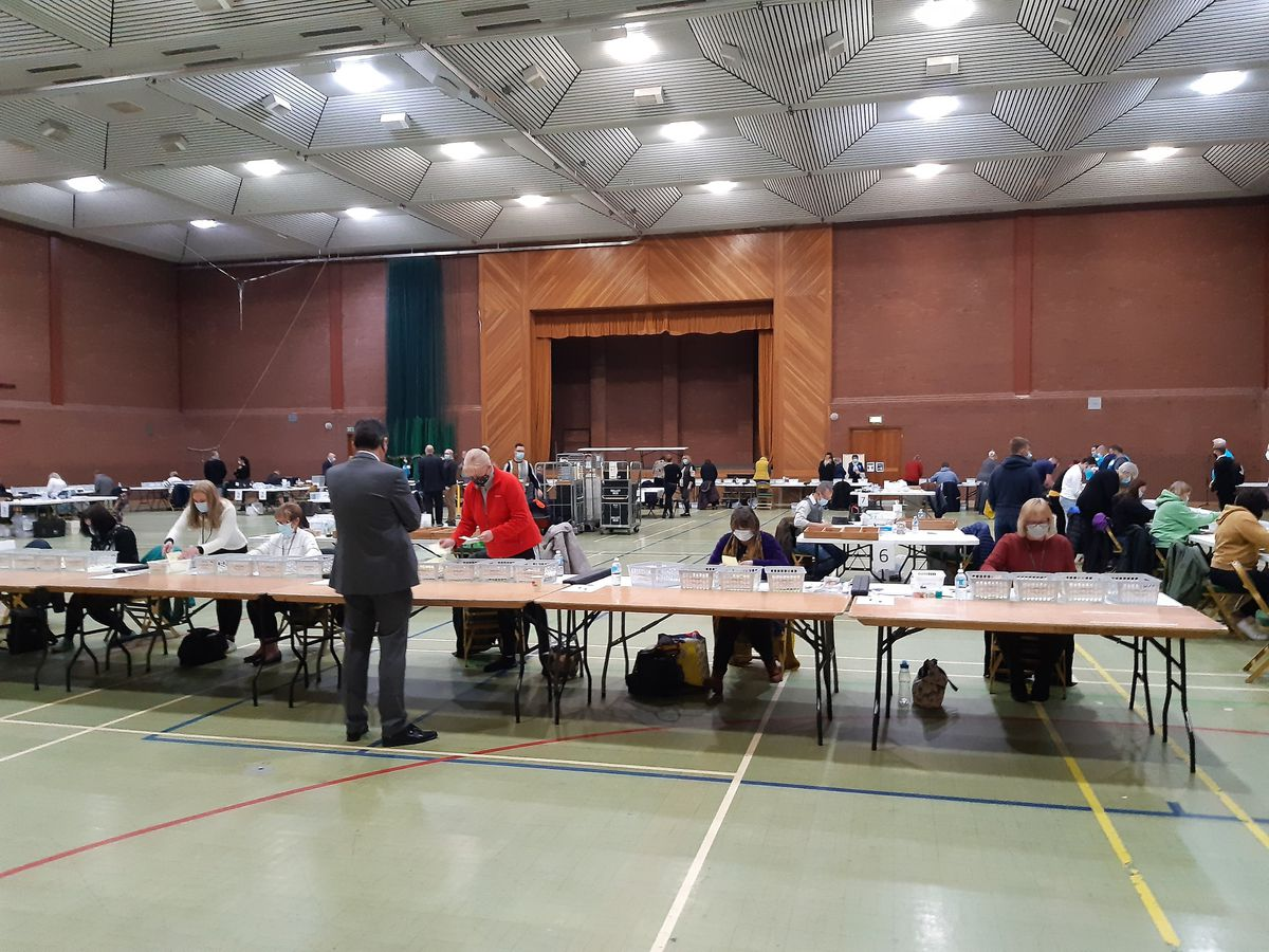 The votes have now been counted for the Cannock Chase District Coucnil elections