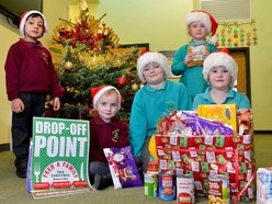Wednesfield Primary school pupils help our Feed a Family This Christmas Appeal