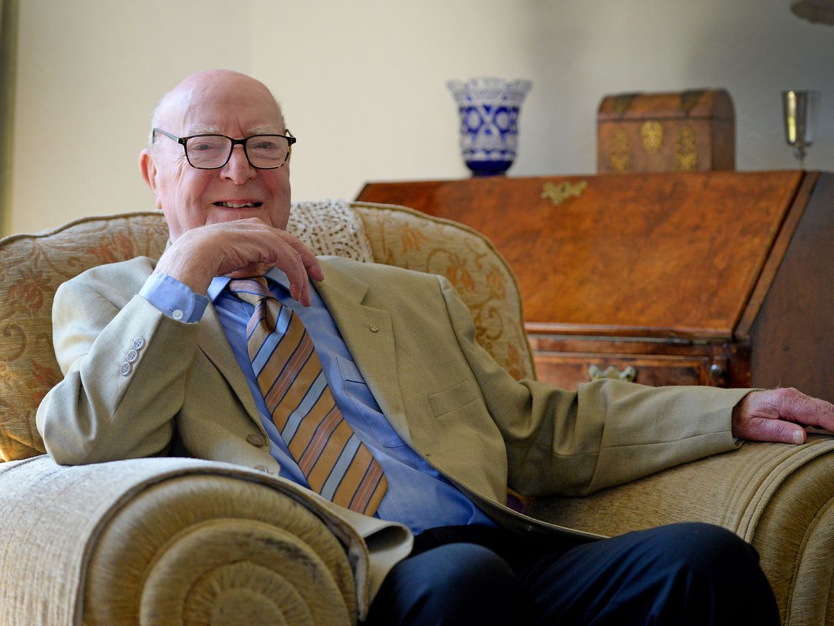 John Tonkinson, who has decided to hang up his hat as a parish councillor after 32 years