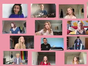 Students from Shelfield Ormiston Academy have created a video to bring together the community