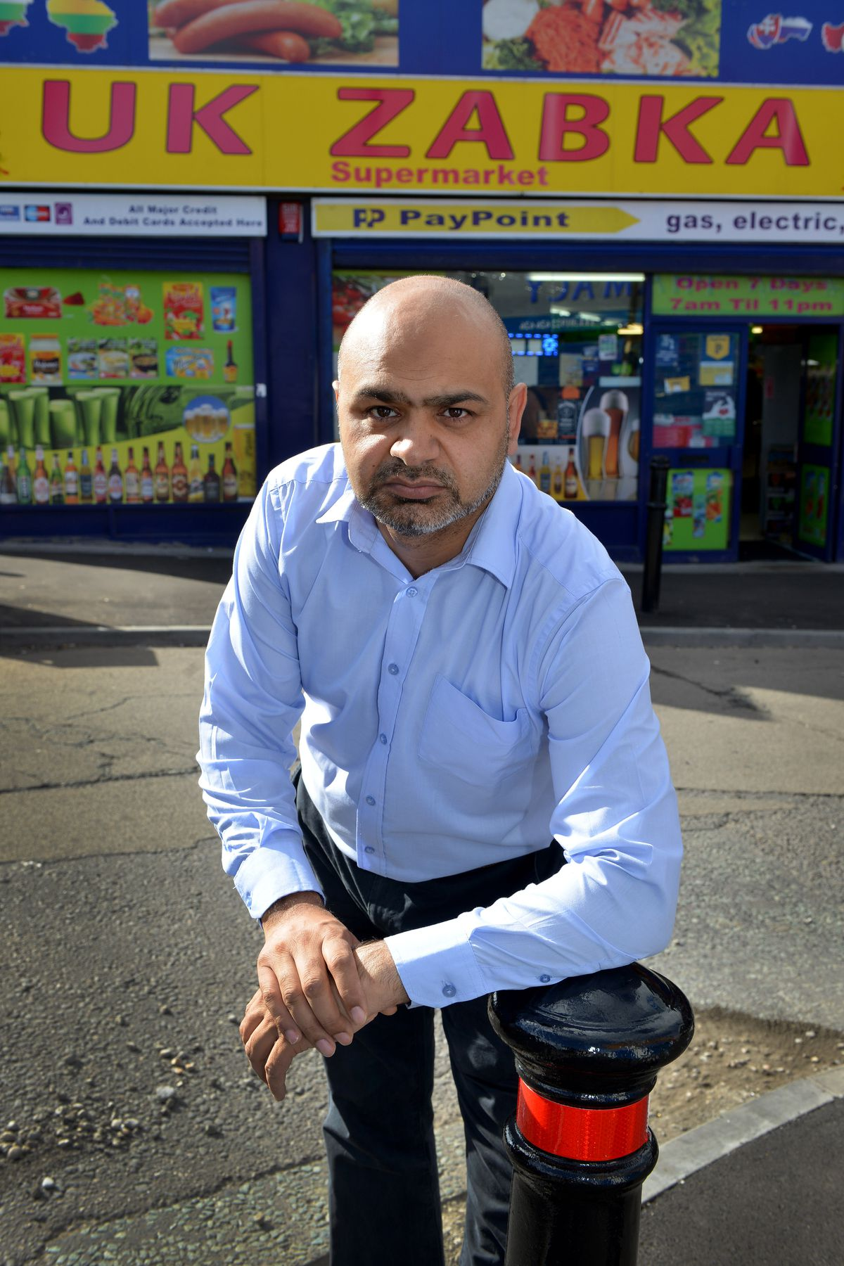 Labour Group leader Aftab Nawaz.