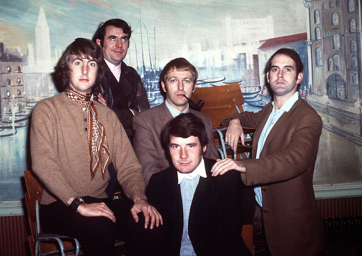 Left to Right: Eric Idle, Terry Jones, Graham Chapman, John Cleese and Michael Palin of Monty Python