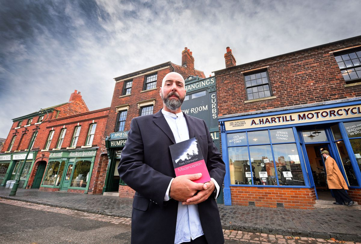 Local author Frank Chamberlain from Brierley Hill, has a new book released called Misconception, which is greatly inspired by his days at Black Country Living Museum