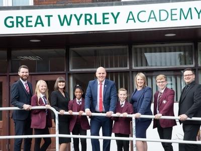 Headteacher promises a new era for Great Wyrley Academy
