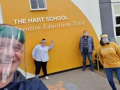 Staffordshire school makes protective visors for front line staff