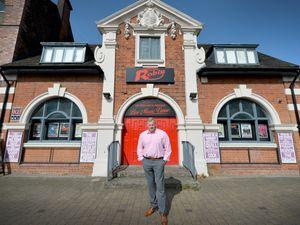 Fraser Tranter, owner of Robin 2, outside the Bilston venue