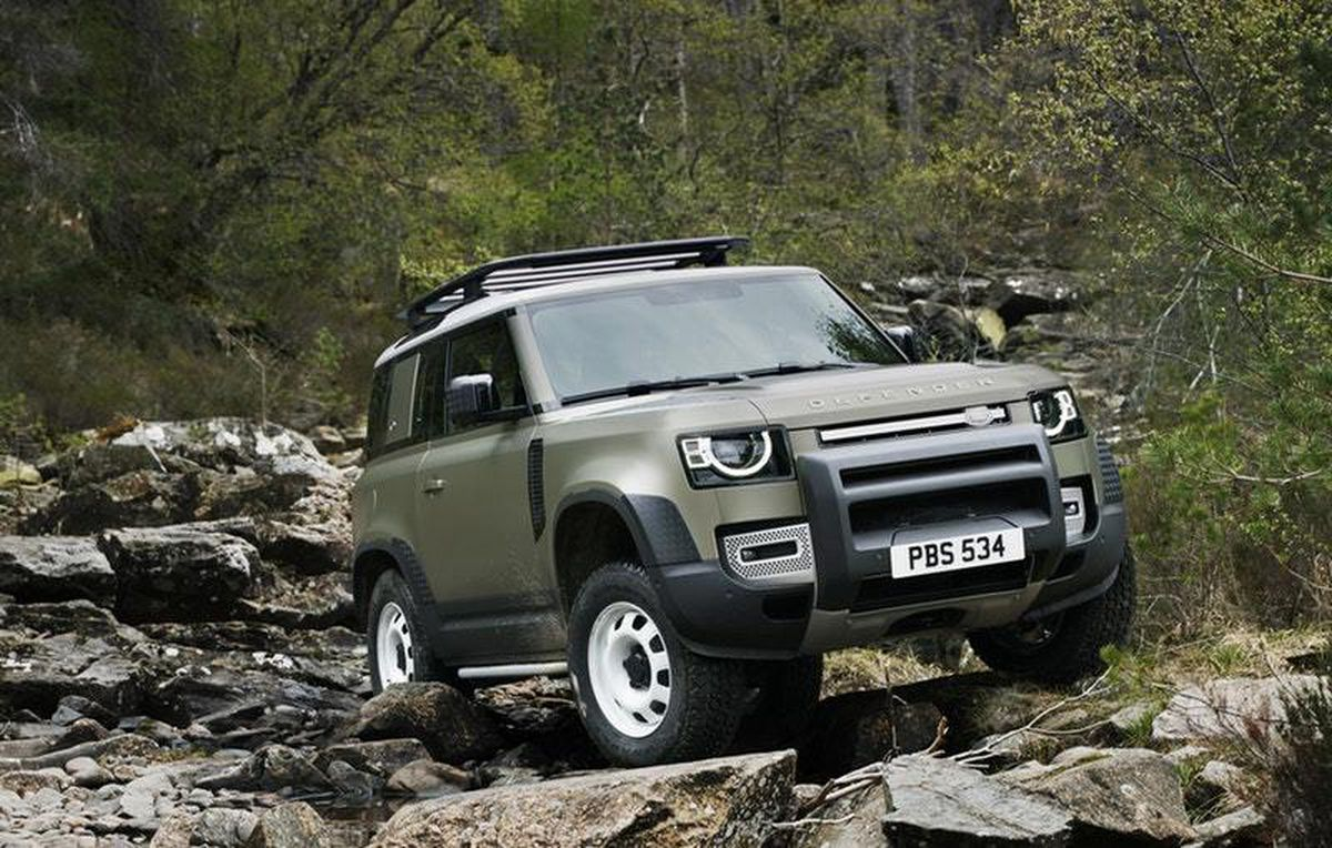 The first sales of the new Land Rover Defender started this year