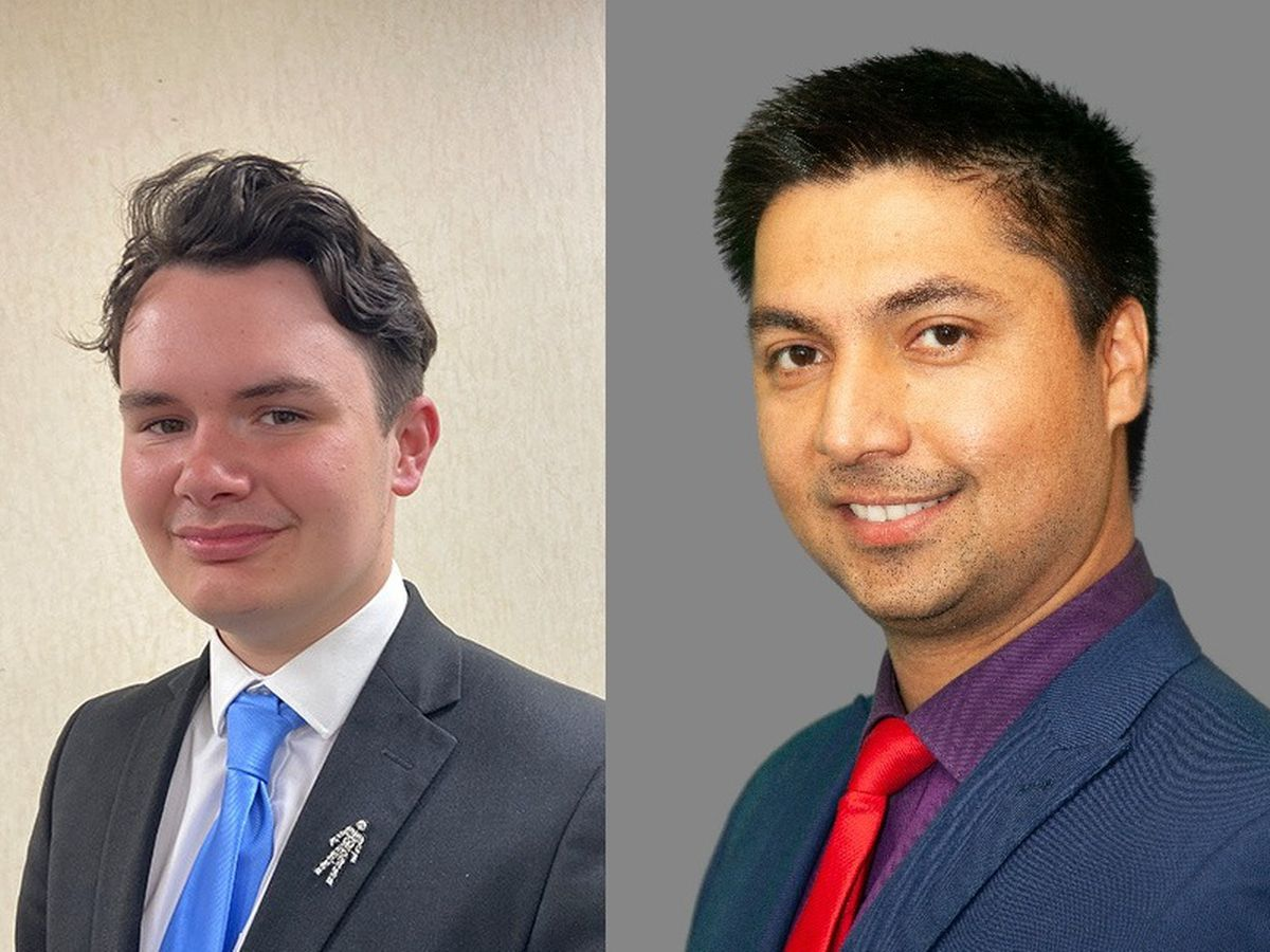 Tory councillor William Gill challenged authority leader Rajbir Singh on his appointments. Photos: Sandwell Council