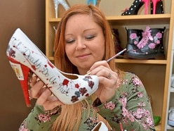 Eccleshall Emma makes fairy tale footwear: These shoes were made for adoring
