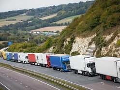 Kent lorry build-up cleared, police say