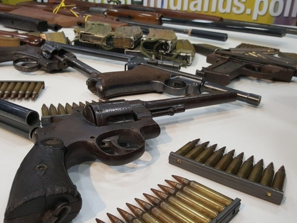 'Do the right thing, hand it in': New gun surrender launched in battle against violence crime
