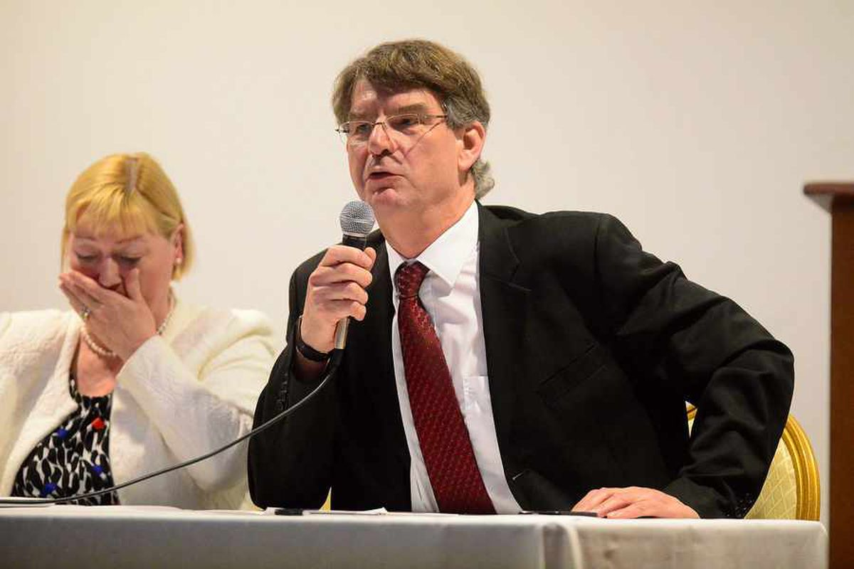 Wolverhampton South West MP Rob Marris was also speaking at the event