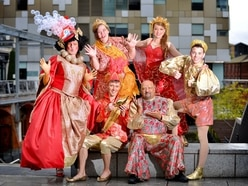 Mary Stevens Hospice's charity pantomime launches in Stourbridge - with pictures and video