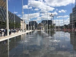 Birmingham's Centenary Square opens after near £16m transformation