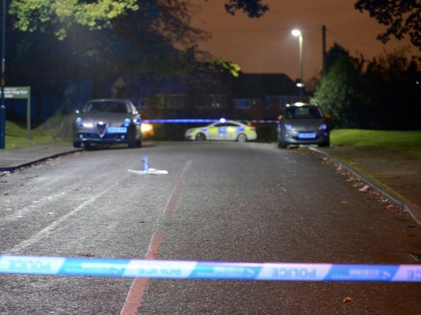 Man stabbed in chest by robber during violent carjacking